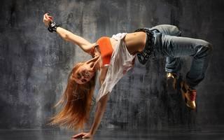 Foto tatsächlichen Tänzerin