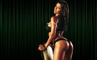 Sexy brésilienne.